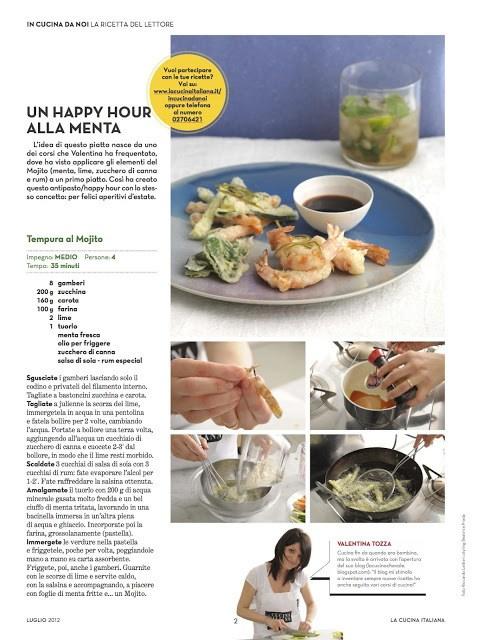 la cucina italiana articolo
