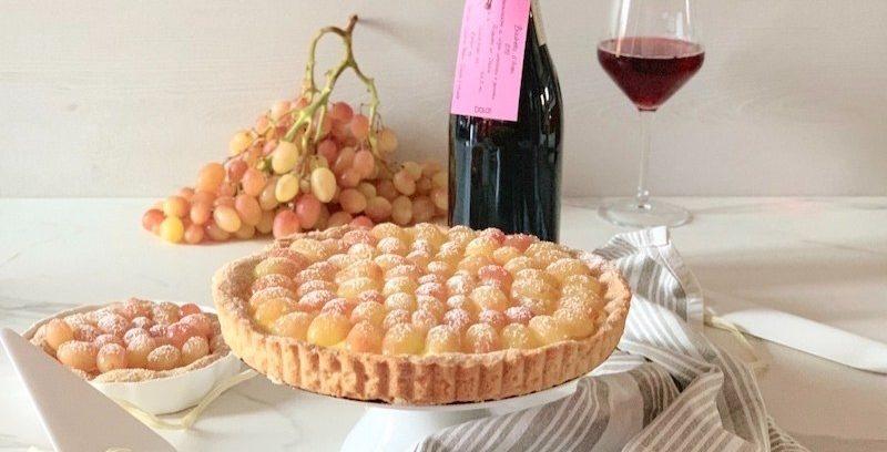 Crostata-uva