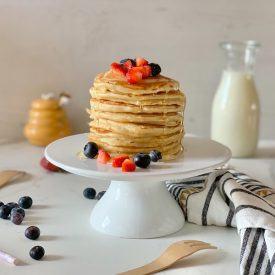 la ricetta perfetta dei pancake americani